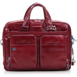 Photo of Piquadro Blue Square Briefcase 15 ″ red PiquadroPiquadro