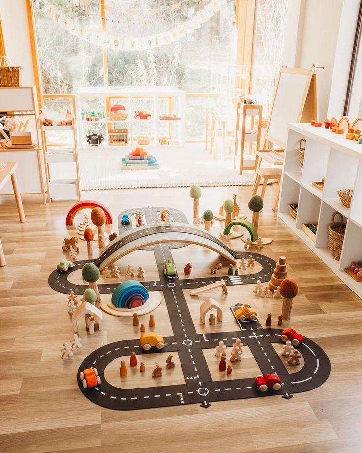 30 Splendid Diy Spielzimmer für Kinder Deko-Ideen