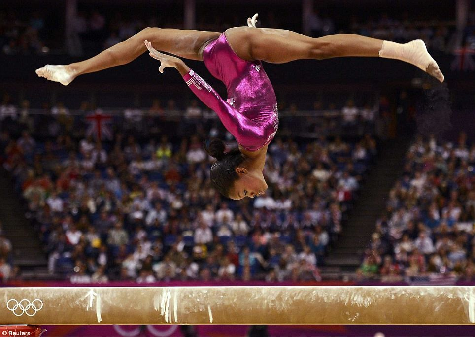 Vault Gymnastics Gabby Douglas