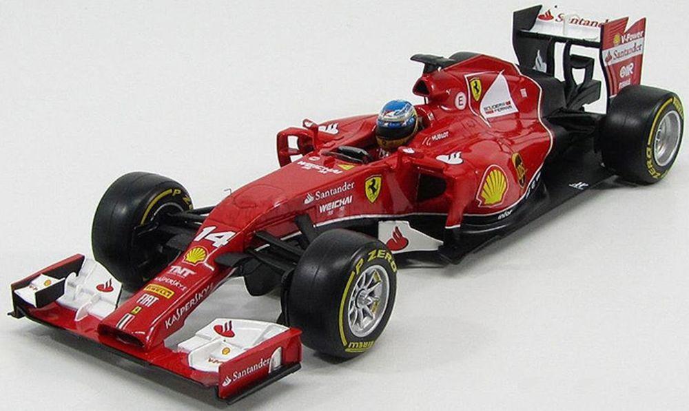 Hot Wheels 2014 Ferrari Formula F 1 F14 T 1:18 F2014 Fernando Alonso #14 BLY67