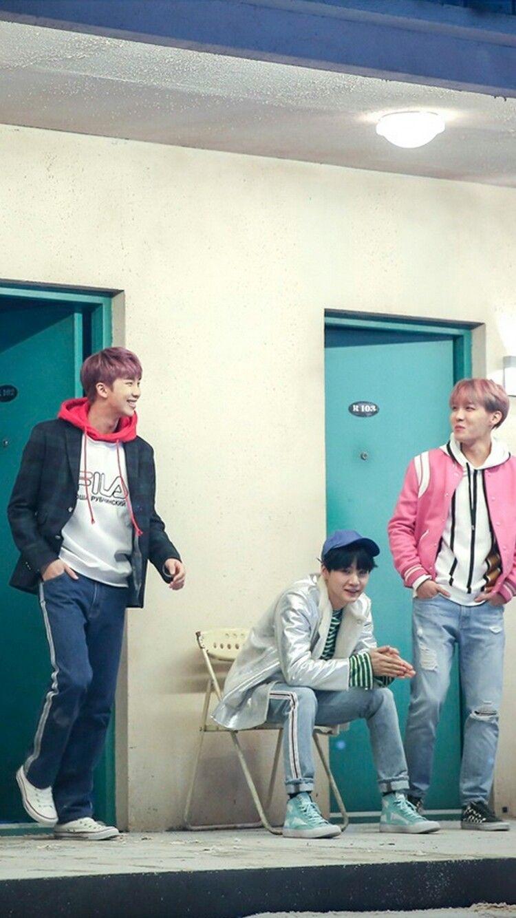 BTS Spring Day❤ Rap Monster, Suga & J-Hope   BTS   Bts, Bts