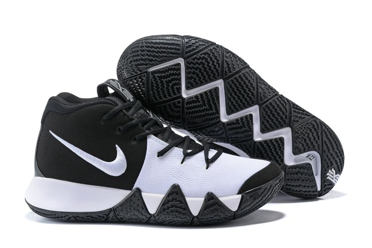Nike Kyrie 4 Original Nike Zoom Kyrie 4 Basketball Shoe Kyrie 4 Black Red  Kyrie Irving 4 New Release 2017 For Sale | new arrival shoes 2017 |  Pinterest ...