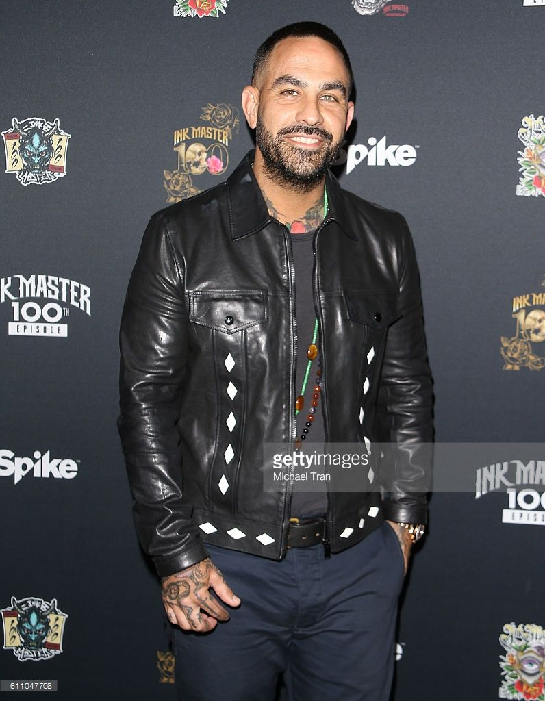 Chris Nunez arrives at the 100th Episode party for 'Ink
