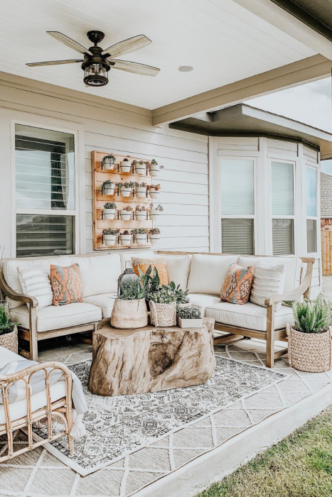 DIY Patio Projects & Outdoor Furniture Ideas - 5 Minute DIY