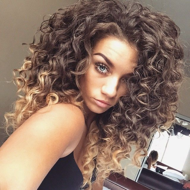 Pin By Saige On Hair Pinterest Curly Hair Style And Hair Coloring