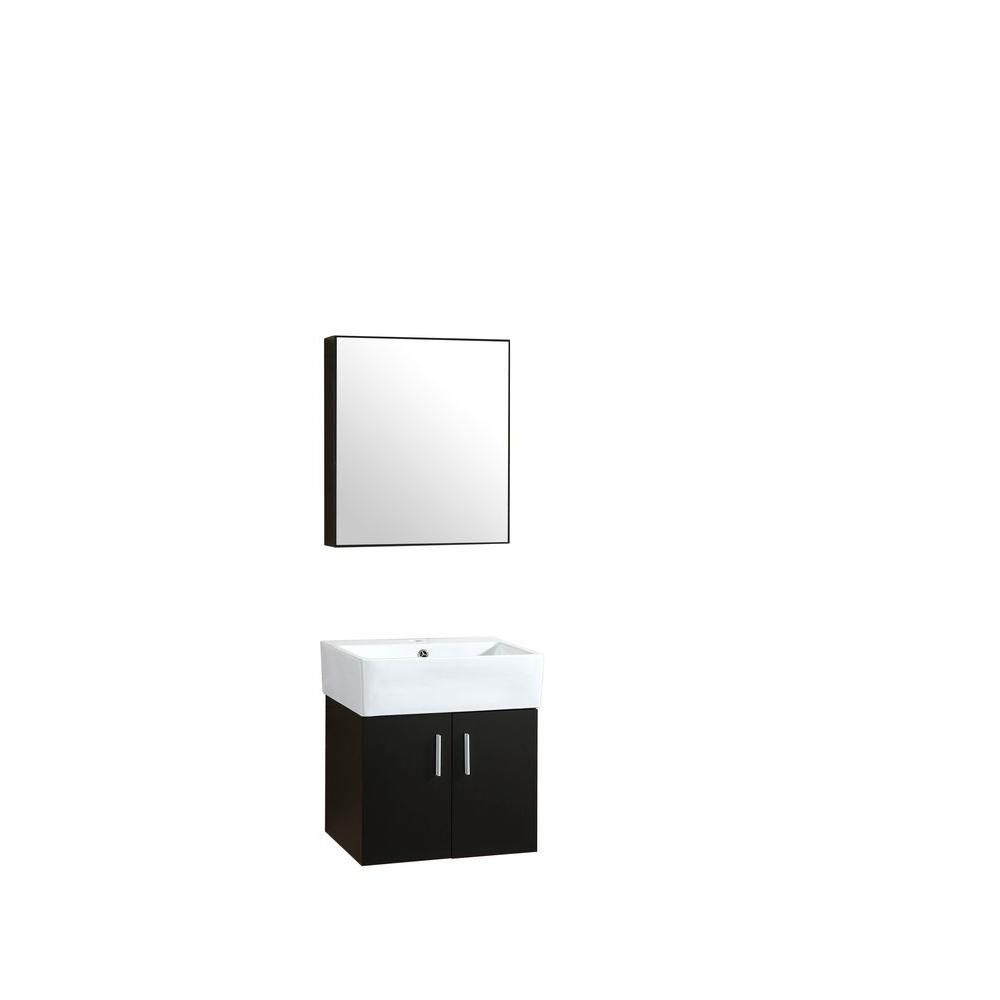 Bathroom Sinks 19 X 21 garrido bros. & co. roma 21 in. w x 21 in. d x 19 in. h vanity in