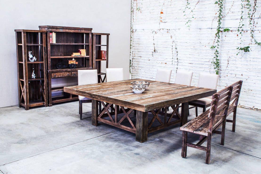 10 Mesas De Madera Extraordinarias Para Casas Modernas Mesa De  # Muebles Modernos En Guadalajara