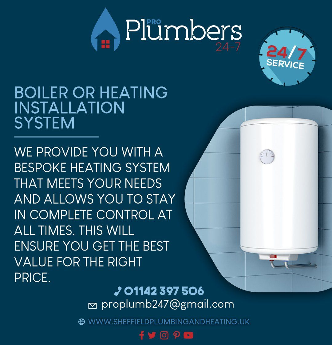 Pro Plumbers Will Clean Out Your Central Heating System Using