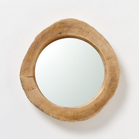Tree Trunk Mirror by Terrain