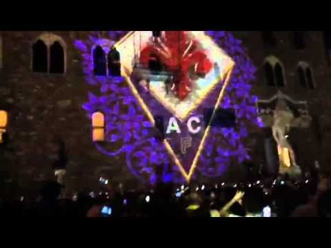 Presentazione maglie Joma della Fiorentina 2012-13 - Piazza della Signoria