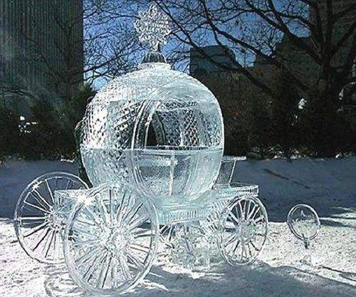Cinderellas Carriage, Minneapolis Ice Festival, Minnesota