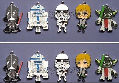 #Wholesale #mixed star wars enamel metal charm #pendants diy jewelry making v121,  View more on the LINK: http://www.zeppy.io/product/gb/2/281870371366/