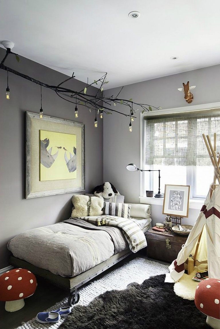 45+ Exciting Gray Boys' Room Ideas images
