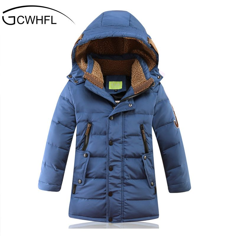 f793a73302f16 Nice -30 Degree Children s Winter Jackets Duck Down Padded Children Clothing  2017 Big Boys Warm Winter Down Coat Thickening Outerwear -   - Buy it Now!