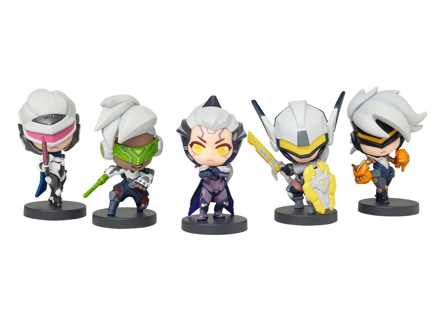 League of Legends PROJECT Mini PVC Action Figure Zed Ashe Katarina New In Stock