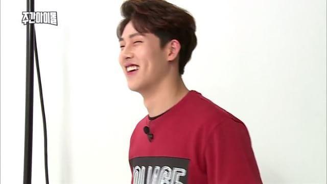Yeahhhh Jooheon-ah, you just killed me .#HaniisMe #ilovehimsomuch . Weekly Idol EP.254 #주헌 #Jooheon
