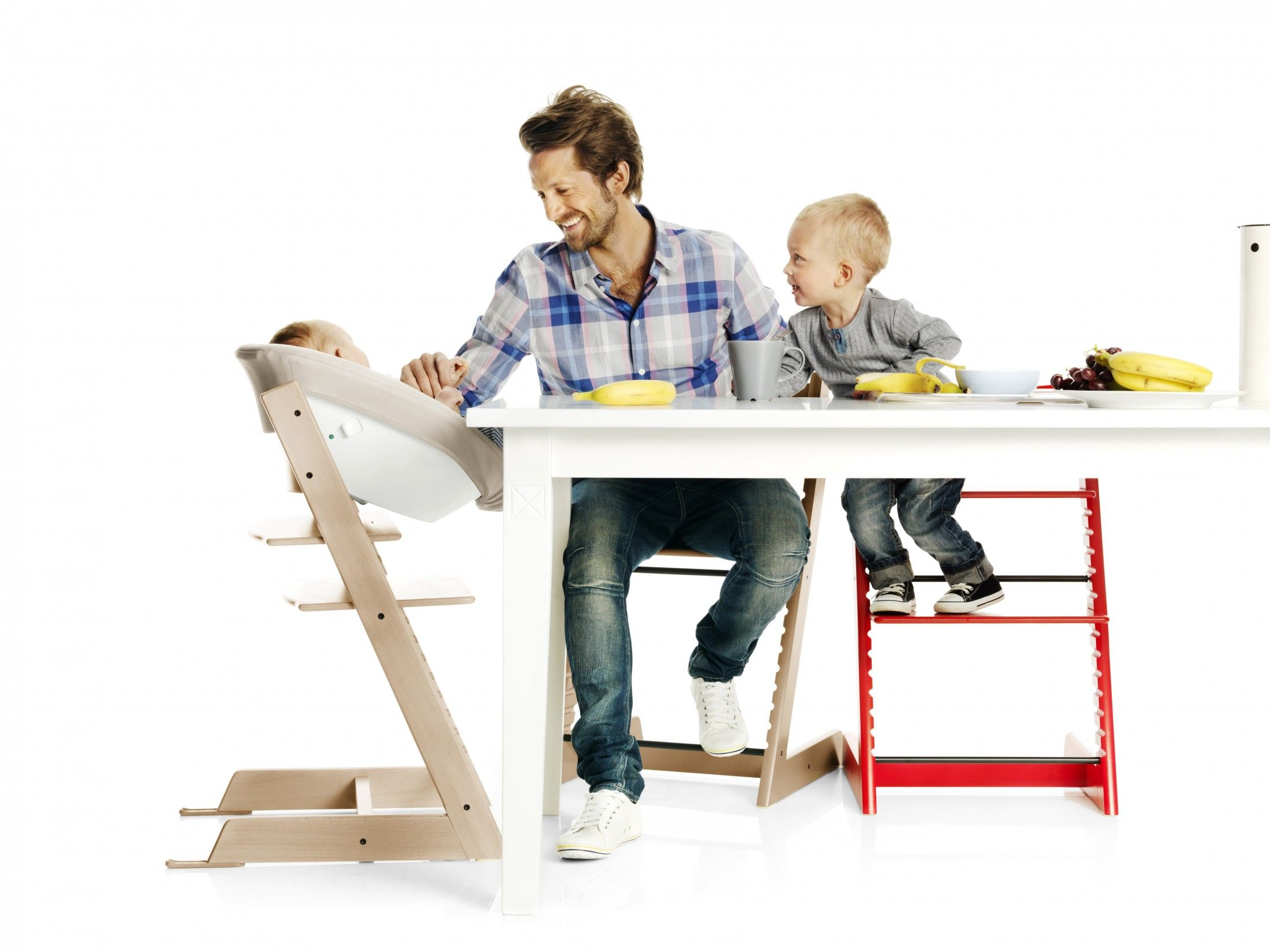 Ad Bring Your Baby To The Table With The Tripp Trapp Chair Kid Friendly Baby Bouncer Tripp Trapp Chair Baby Olive