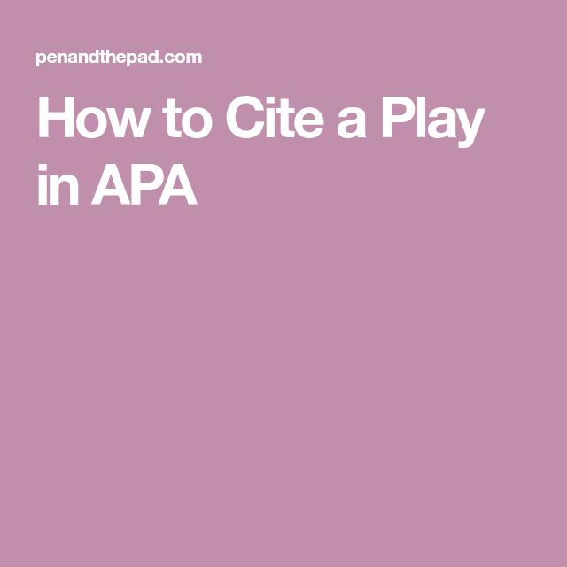Contentideas: Apa, American Psychological