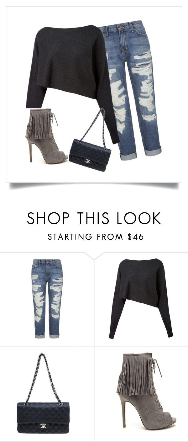 """""""Concert"""" by tcheriemiller on Polyvore featuring Current/Elliott, Crea Concept and Chanel"""