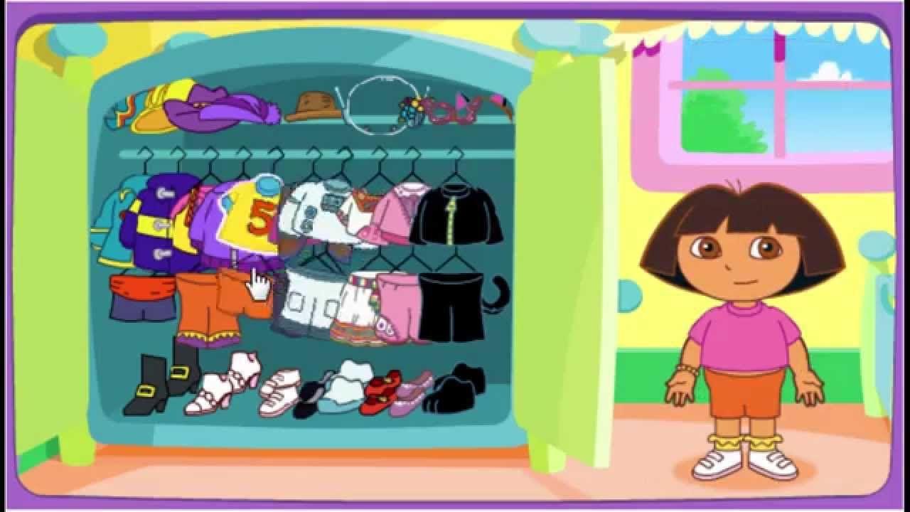Ni nick jr games and coloring on online - Nick Jr Dora The Explorer Adventure Dress Up Game Play Walkthrough