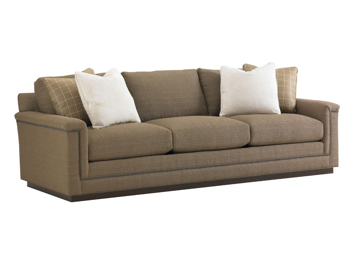 11 South Balance Stationary Sofa With Loose Back By Lexington Home Brands    Zaku0027s Fine Furniture   Sofa Tri Cities   Johnson City, Kingsport And  Bristol ...