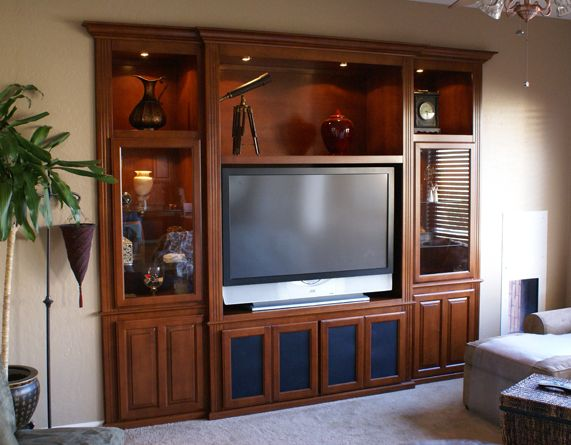We Design Build And Install Custom Wall Units Entertainment Center Cabinets