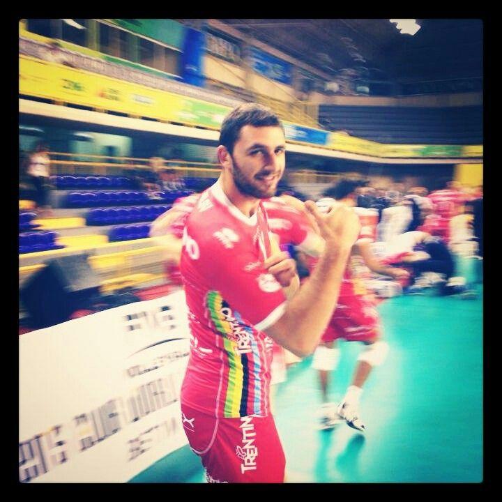 """Sokolov è """"Mr-Trentadue-Punti"""" nella sfida persa da Trento contro il San Juan (3-2)"""