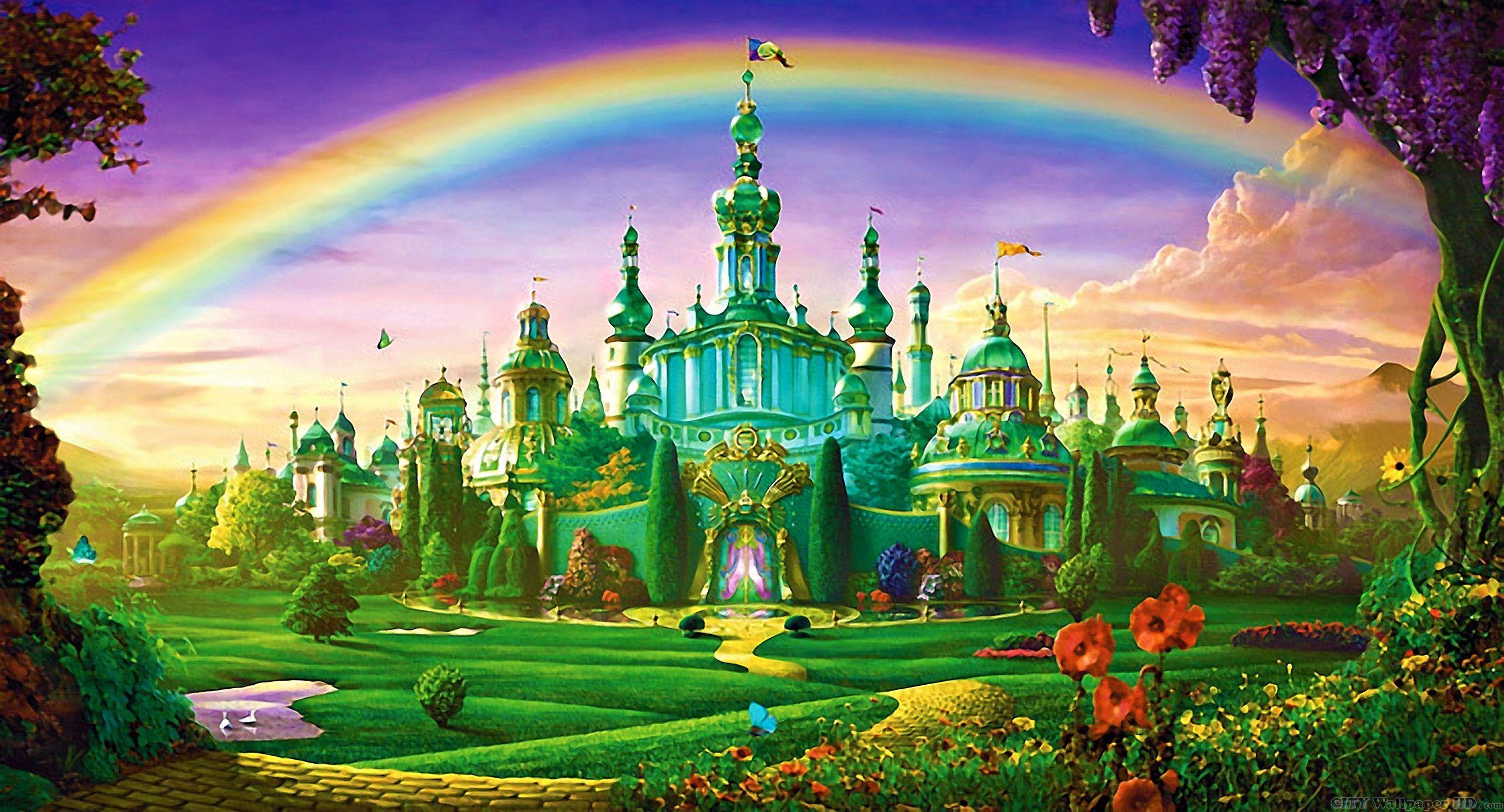 32 Emerald City On Friendly Magic Wallpaper Pretty