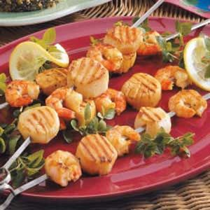 Tangy Shrimp and Scallops