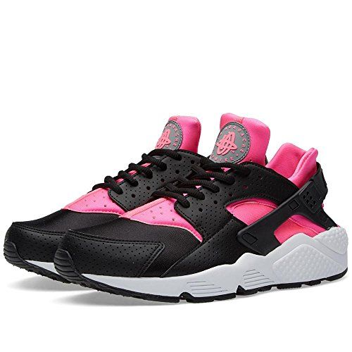 673933525e830 NIKE NIKE women low sneakers 634835 604 WMNS AIR Huarache RUN size 38 Black    fuchsia