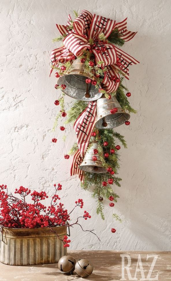 Christmas Bells Decorations | Pinterest | Jingle bells, Homemade ...
