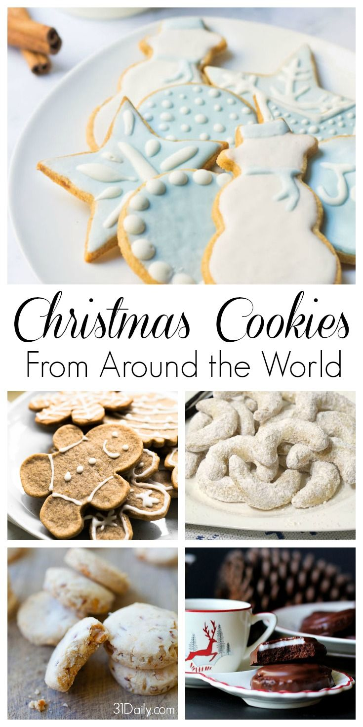 Christmas Cookies From Around The World With Pictures.Celebrating Holidays With Christmas Cookies From Around The