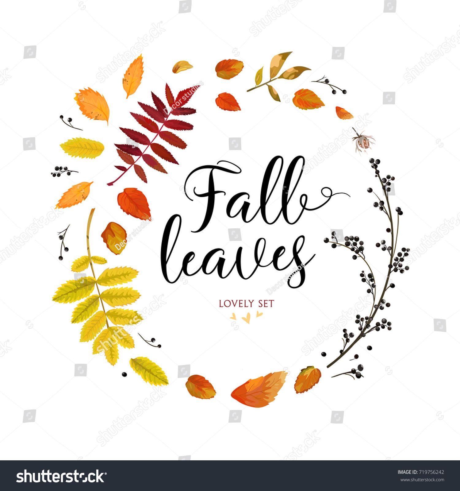 Fall Leaves Design
