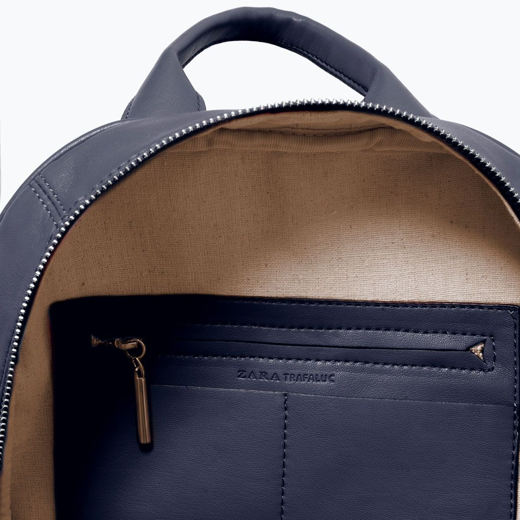 Image 3 of QUILTED RUCKSACK from Zara | Details | Pinterest | Zara ... : quilted rucksack - Adamdwight.com