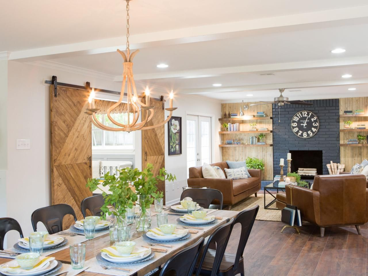 Find the best of fixer upper from hgtv home ideas for Upper living room designs