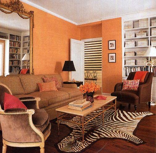 Mandarina dise o interiores y exteriores pinterest - Combinacion de colores para salones ...