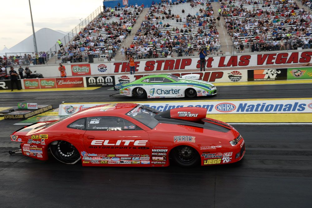 Erica Enders-Stevens Drives to Victory at 2014 K&N Horsepower Challenge #knfilters #dragracing #nhra