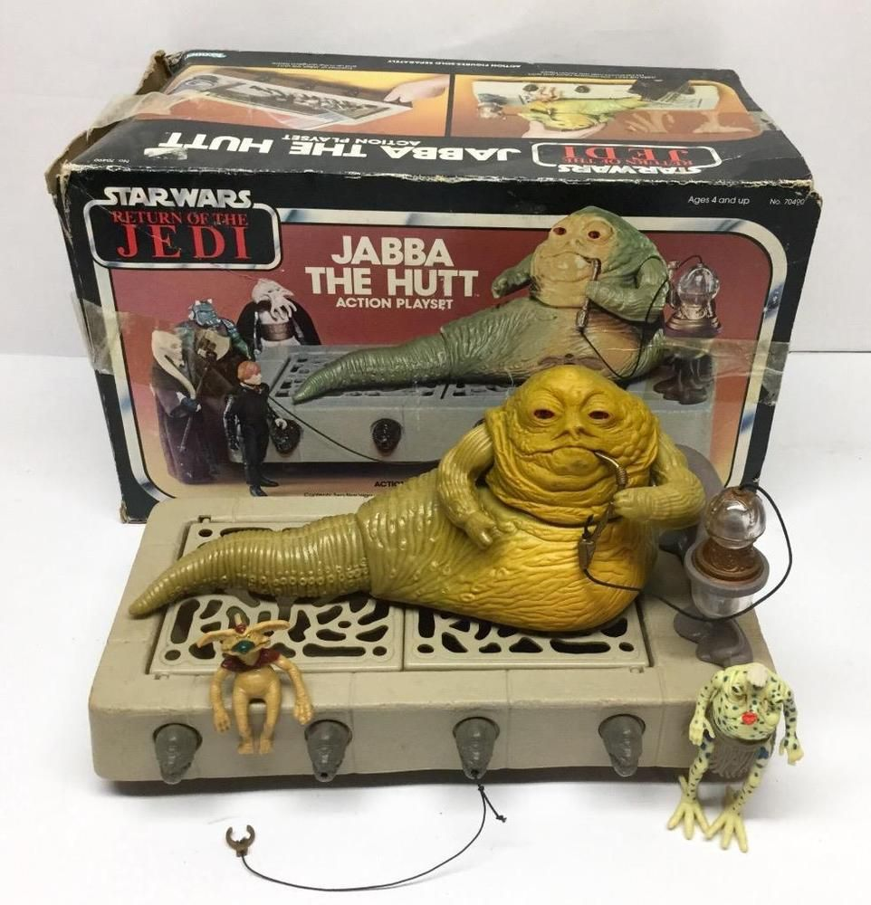 **YOU PICK** 1983 JABBA THE HUTT PLAYSET PART LOT Vintage Star Wars Kenner ROTJ