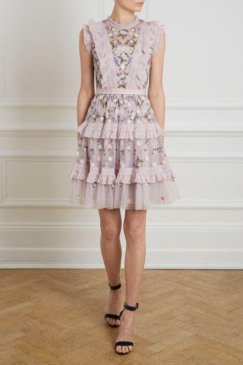 Prism Ditsy Mini Dress Needle Thread Needle Thread Wedding Guest Dress Summer Best Wedding Guest Dresses Casual Dresses