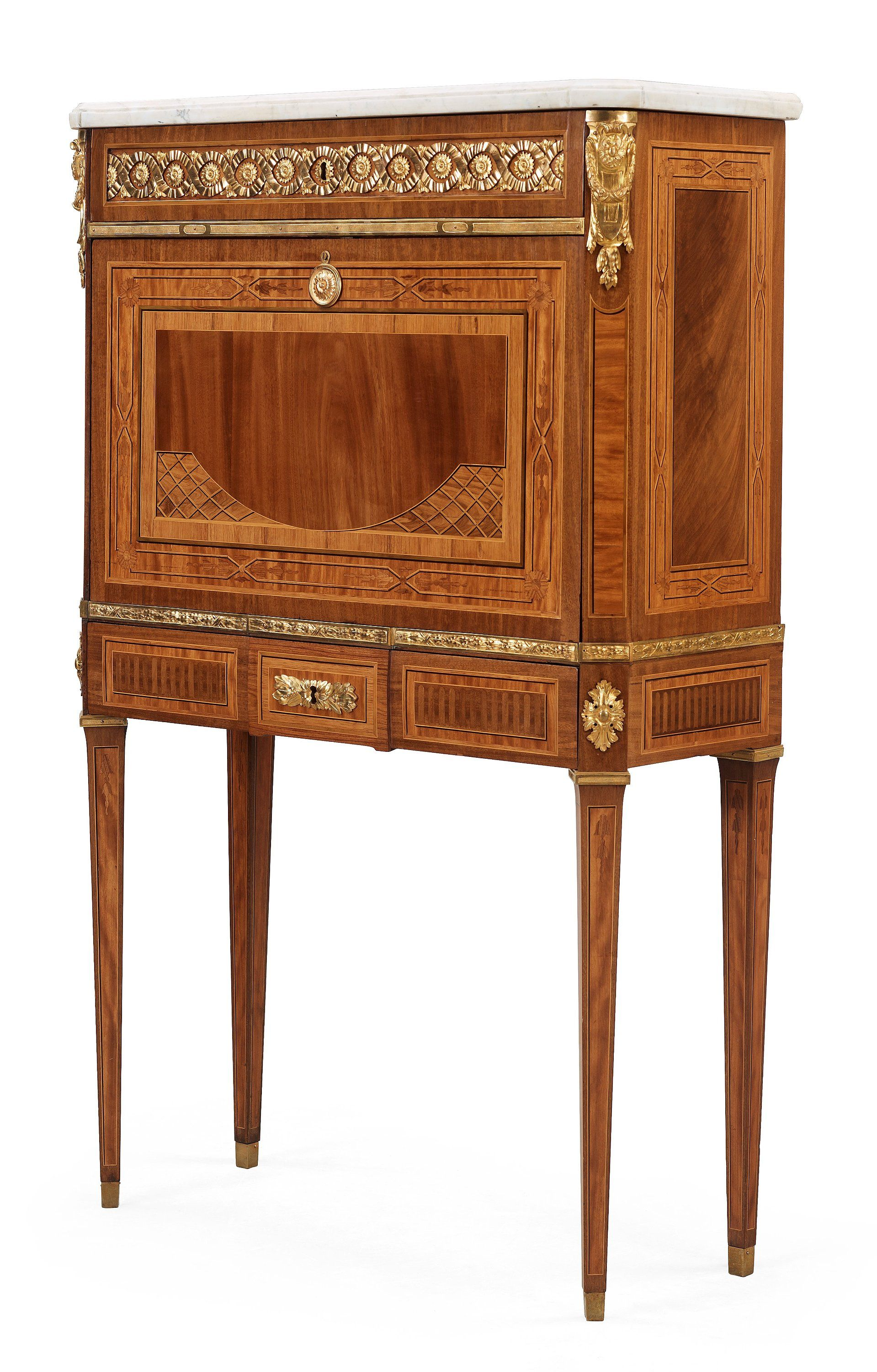 Master Meuble 1482 A Gustavian Secretaire By Georg Haupt Master 1770 Sweden