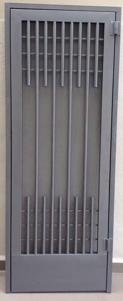 Puertas mosquiteras y corredizas herreria moderna for Puertas de herreria para casa