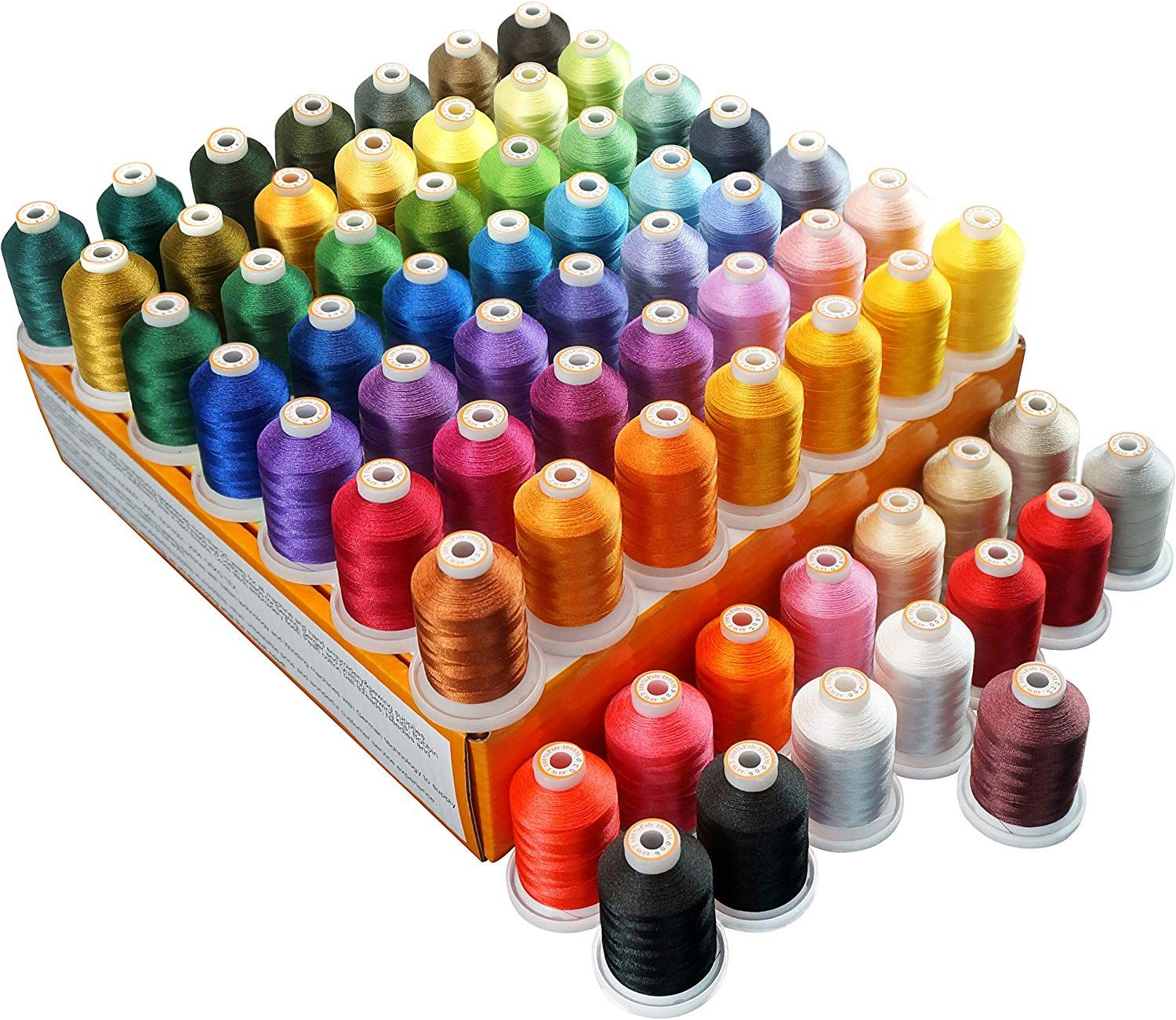 This Is A Great Deal And A Great Assortment Of Colors To Start Out Or Add To Your Collection This In 2020 With Images Machine Embroidery Sewing Machine Cover Embroidery Projects