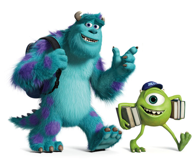 Monsters University A Prequel To Monsters Inc Monsters Inc Monster University Monsters Inc University
