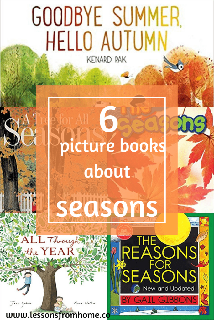 6 Great Pictures Books about Seasons Picture book
