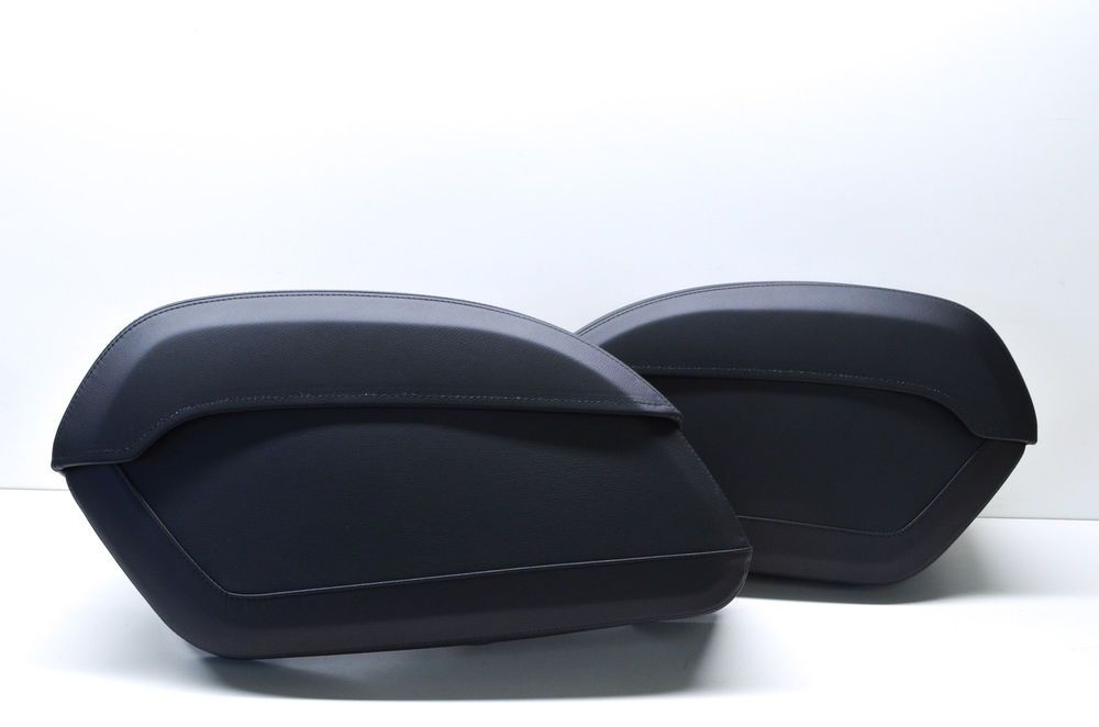 Details about OEM Honda 08L56-MFY-100A Hard Leather Saddlebags Kit