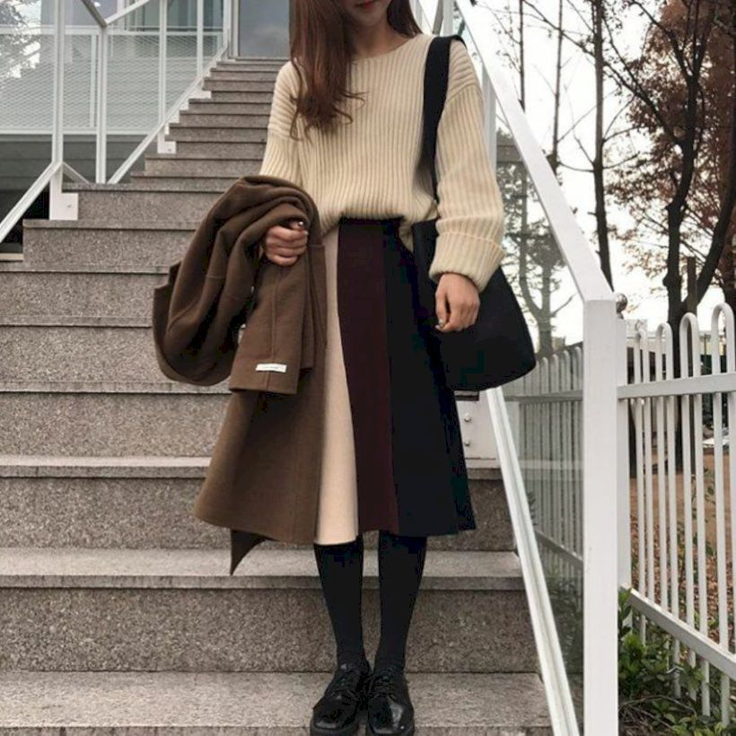 51 Korean Winter Fashion Ideas You Can Copy | Bussiness ...