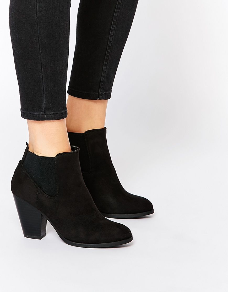 Buy Women Shoes / Call It Spring Hudia Western Black Heeled Boots