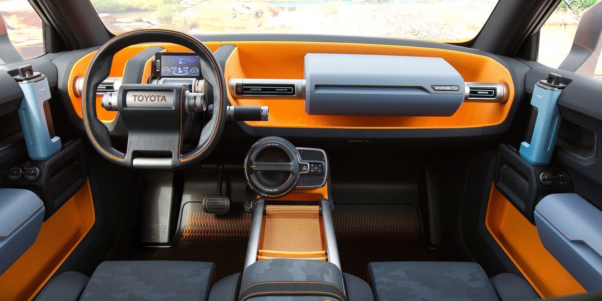toyota ft 4x le fr re cubique du c hr cars interior pinterest. Black Bedroom Furniture Sets. Home Design Ideas