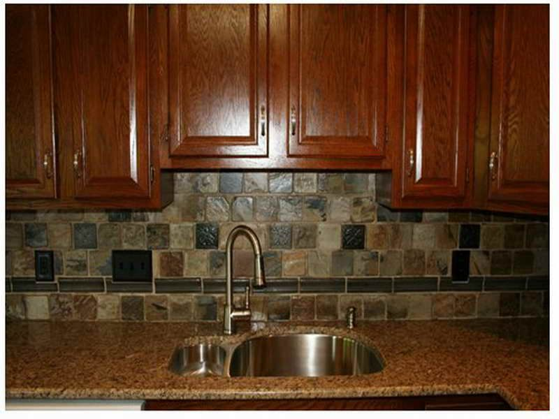 painting of rustic backsplash ideas | kitchen design ideas