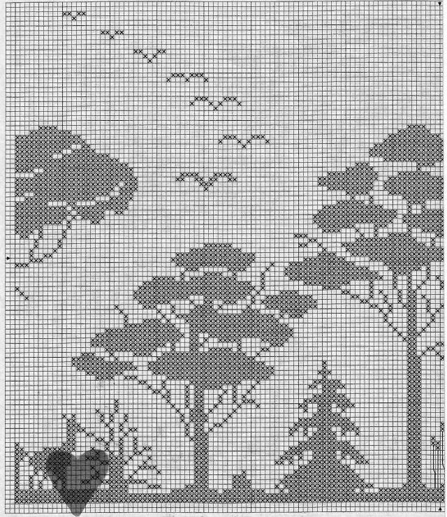 Gallery.ru / Фото #123 - 6 - unito | filet crochet | Pinterest ...